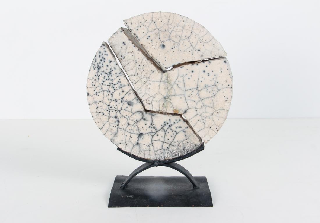 Morantes Broken Disc sculpture - 3