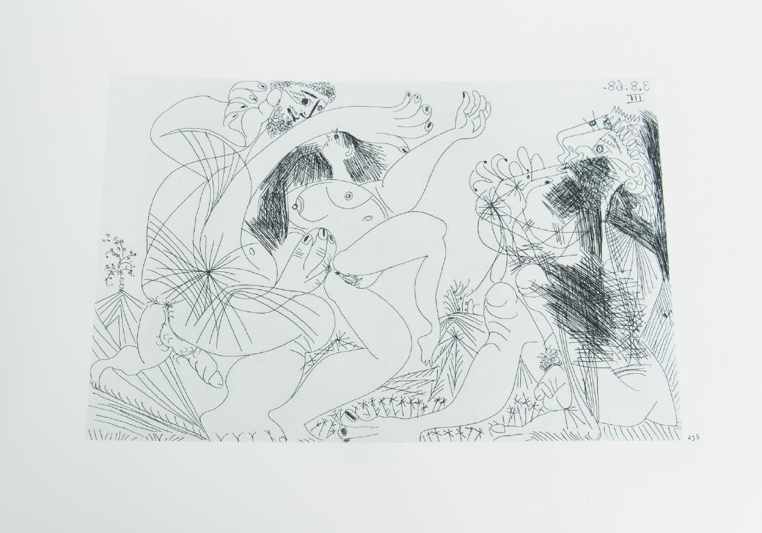 Picasso 347 Etchings Catalogue Raisonne - 10