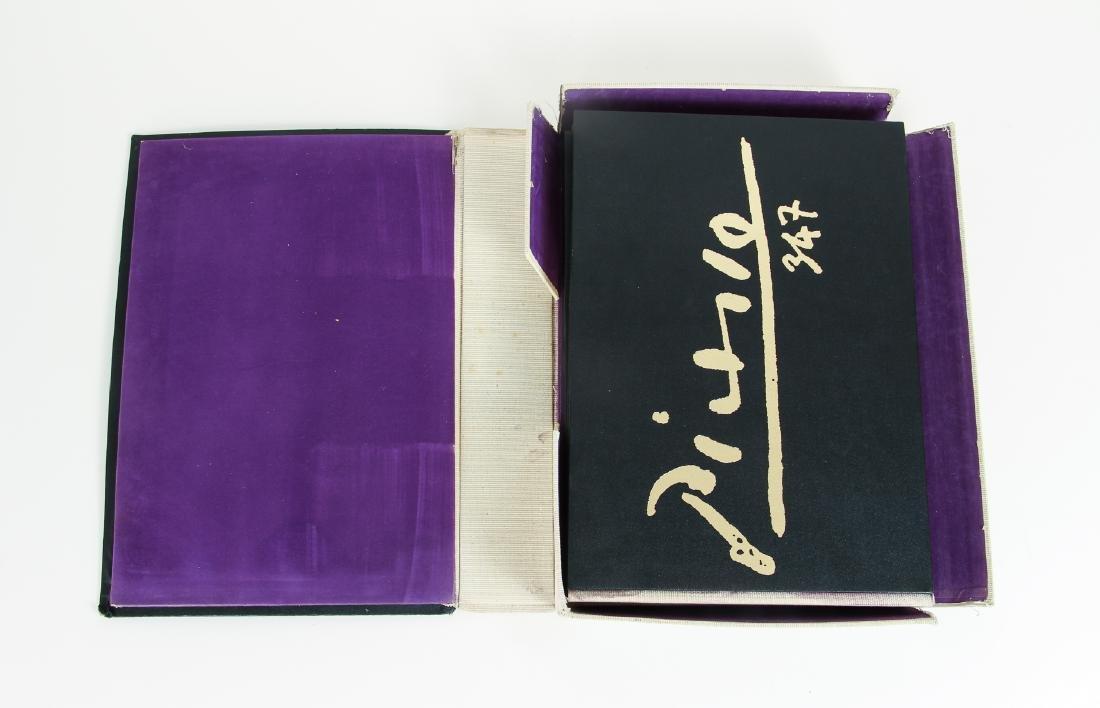 Picasso 347 Etchings Catalogue Raisonne - 4
