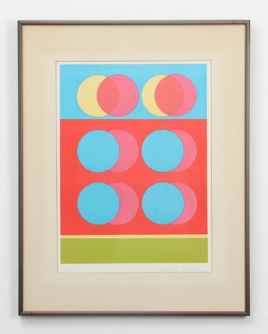 2 Michael Stokoe 1969 serigraphs Allusion & Squire - 2