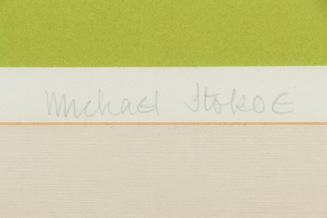 2 Michael Stokoe 1969 serigraphs Allusion & Squire - 3