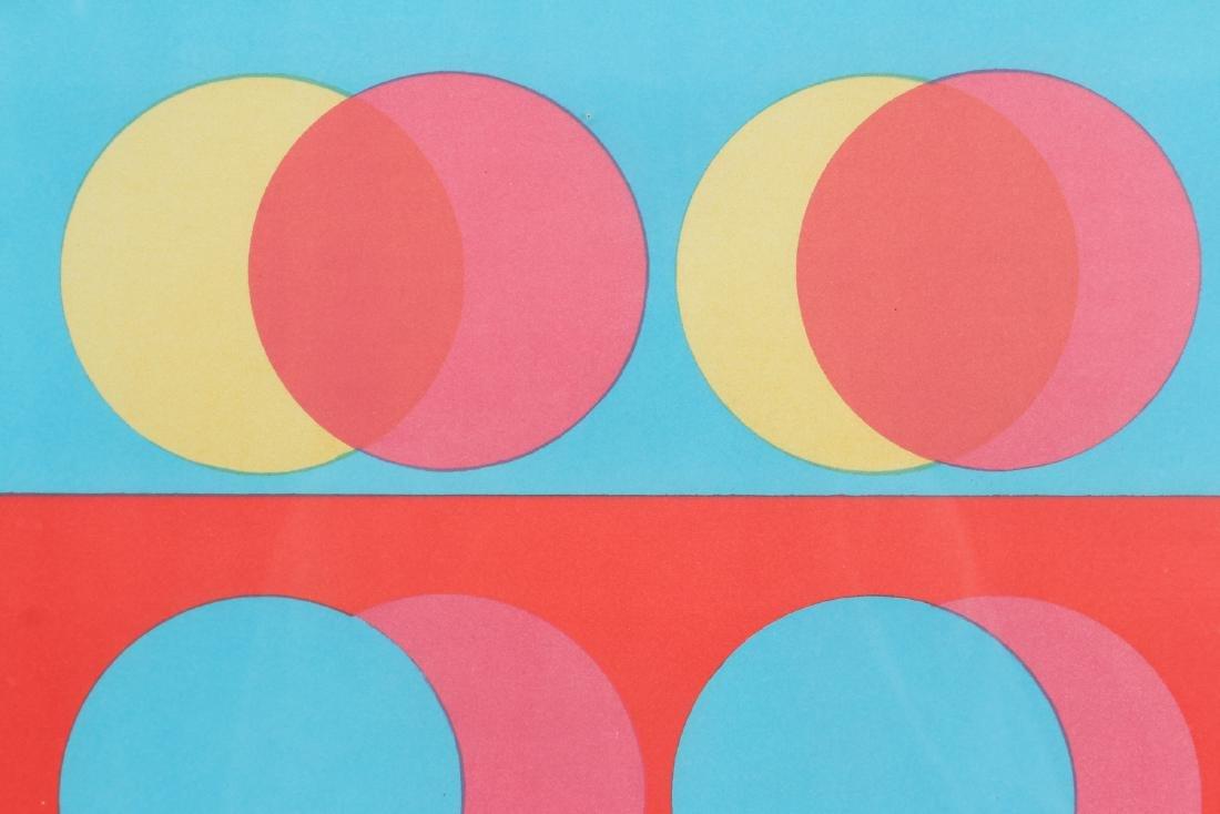 2 Michael Stokoe 1969 serigraphs Allusion & Squire - 5