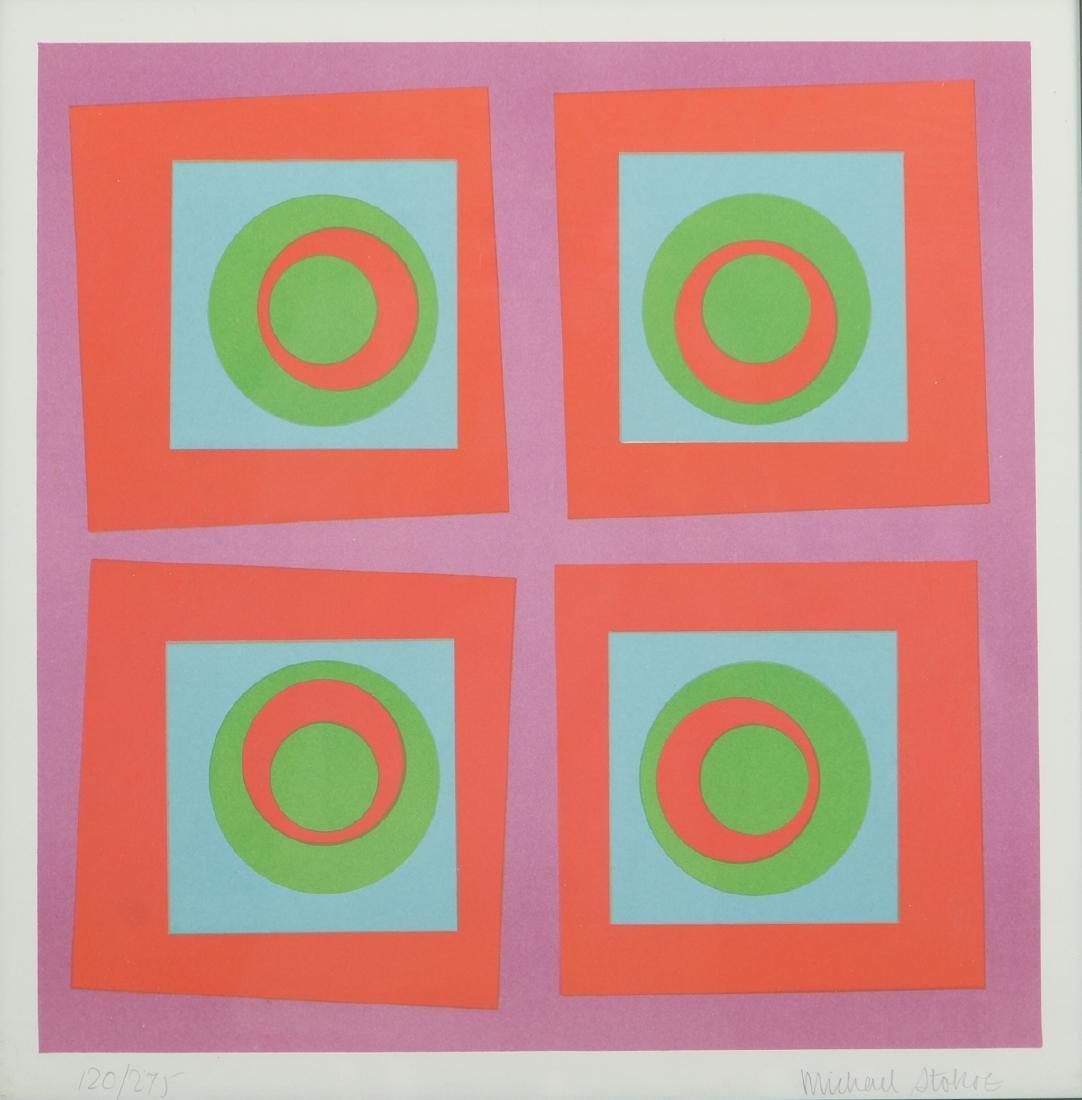 2 Michael Stokoe 1969 serigraphs Allusion & Squire - 8