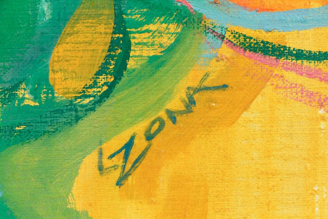 Lou Zona Abstract Oil on Canvas - 3