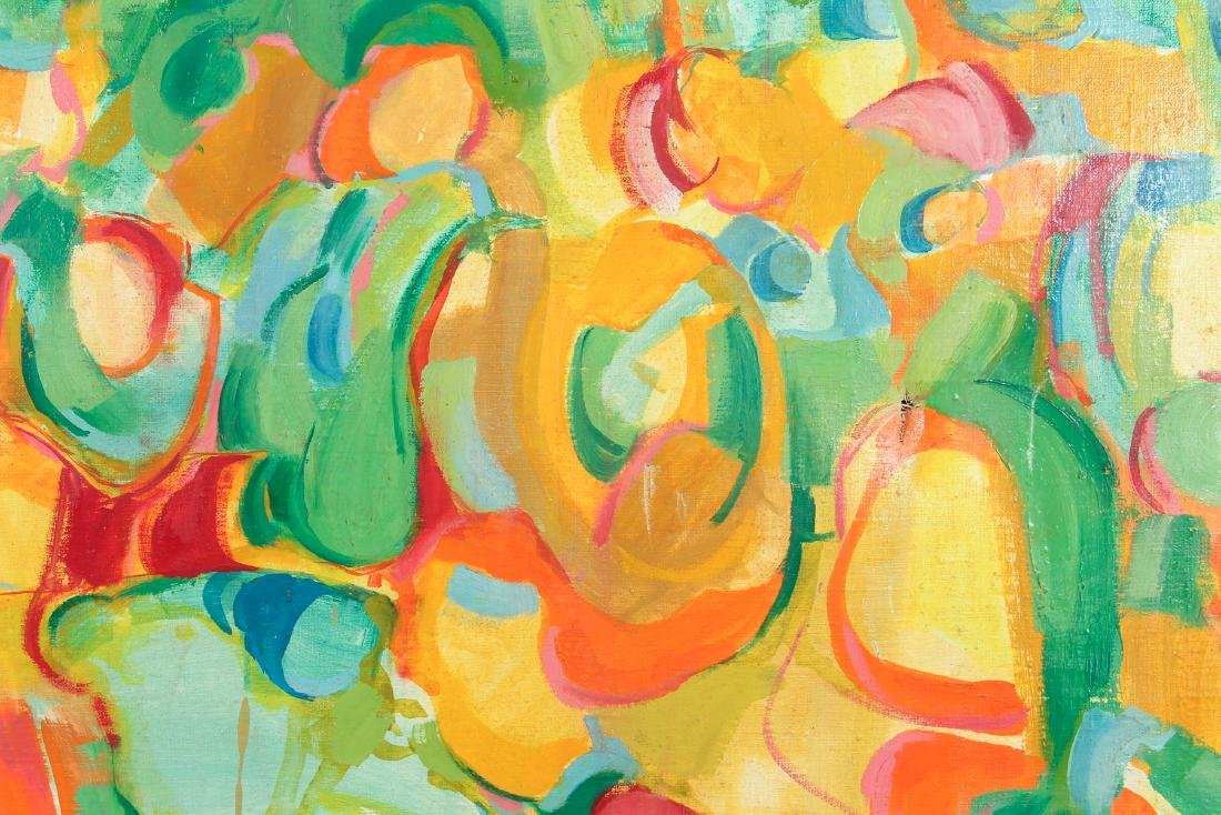 Lou Zona Abstract Oil on Canvas - 4