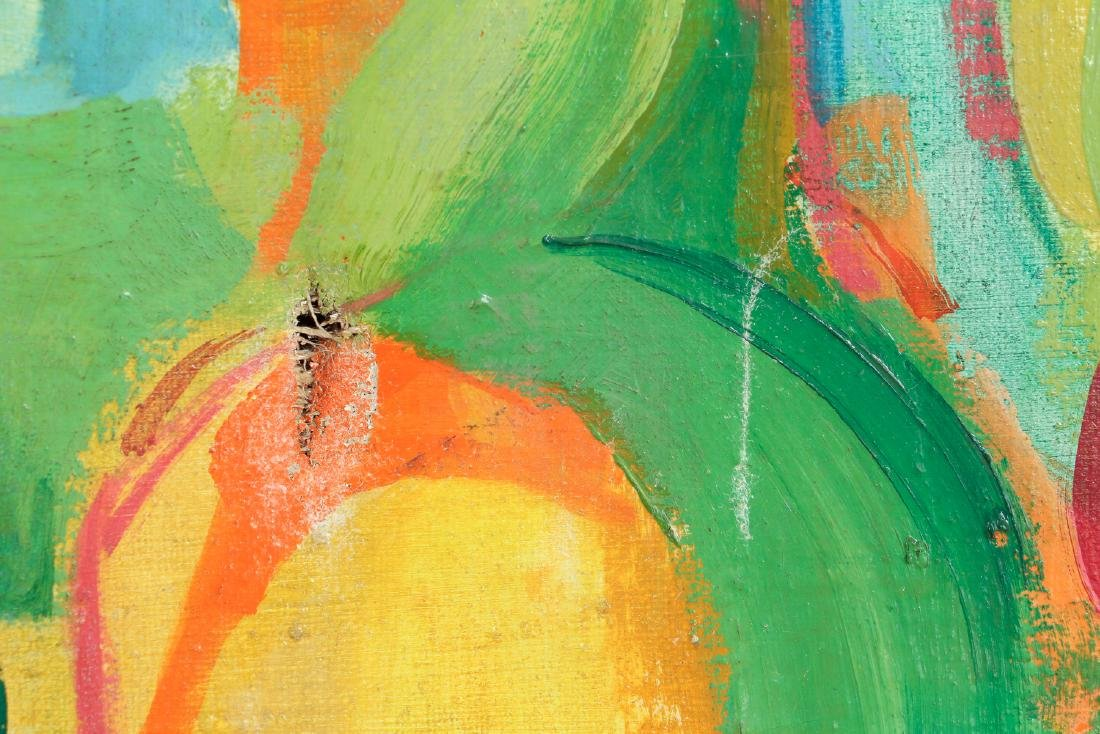 Lou Zona Abstract Oil on Canvas - 7