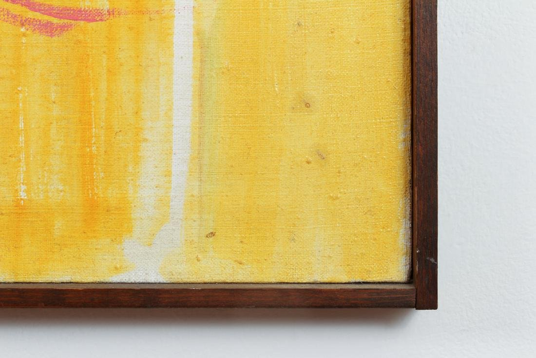 Lou Zona Abstract Oil on Canvas - 8