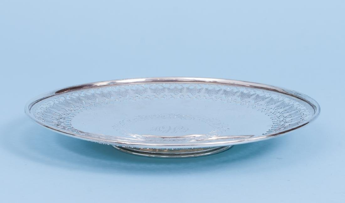 Pair of Sterling Silver Serving Trays - 3