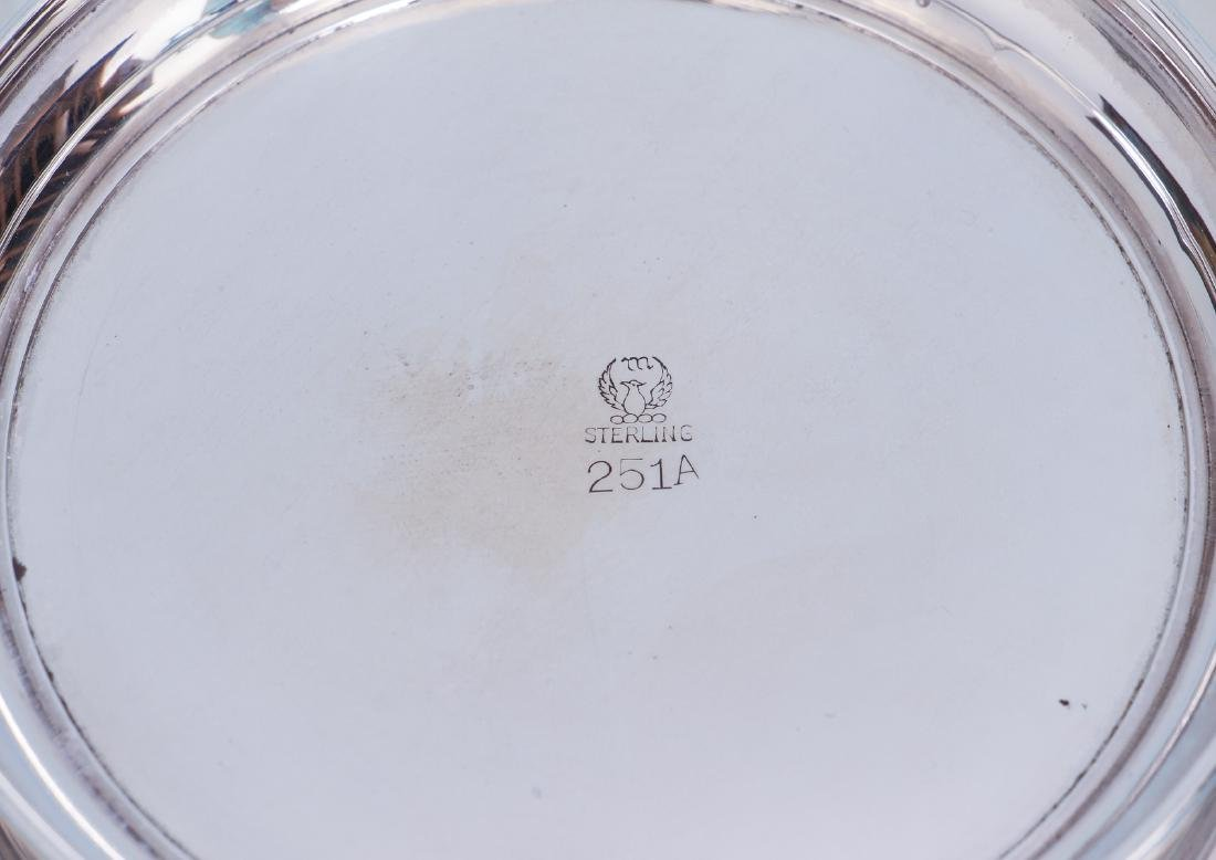Pair of Sterling Silver Serving Trays - 6