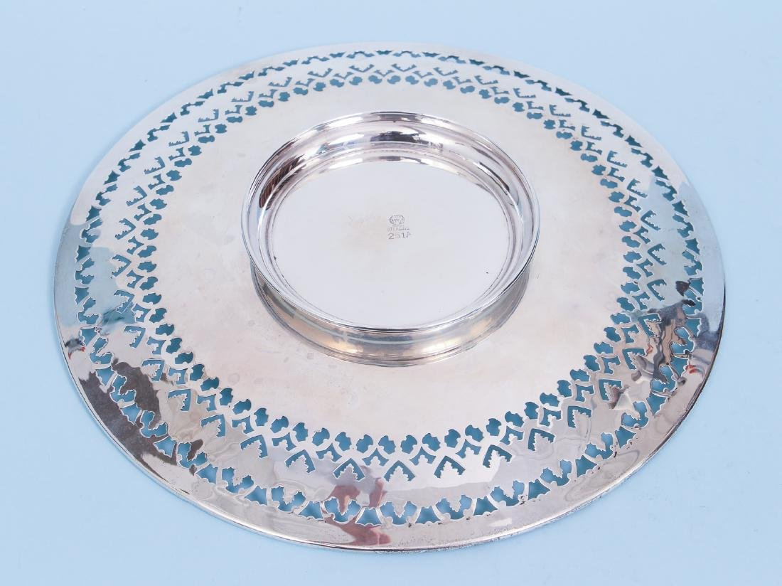 Pair of Sterling Silver Serving Trays - 7