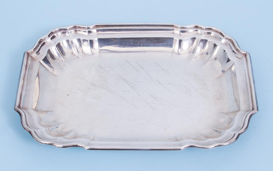 Pair of Sterling Silver Serving Trays - 8
