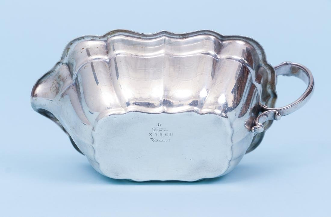 Reed and Barton Sterling Silver Sauce Boat - 6