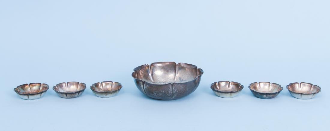 Joel F Hewes Sterling Bowls