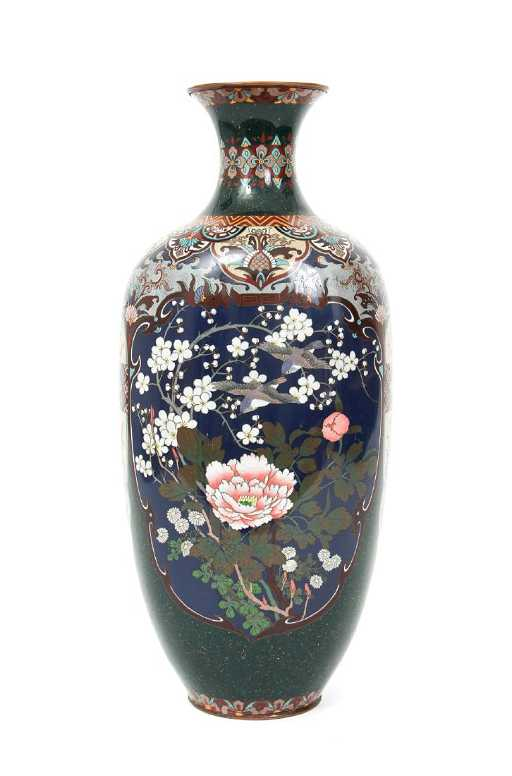 japanese cloisonne vases
