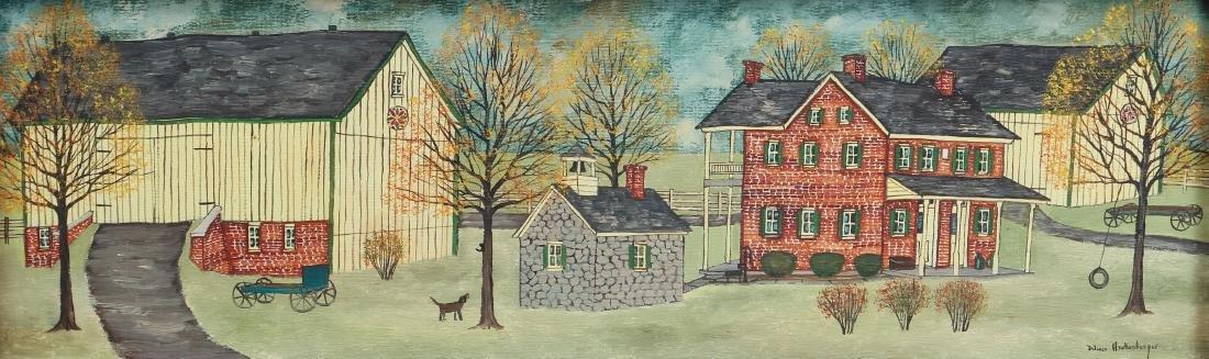 Dolores Hackenberger (Amish Grandma Moses) painting