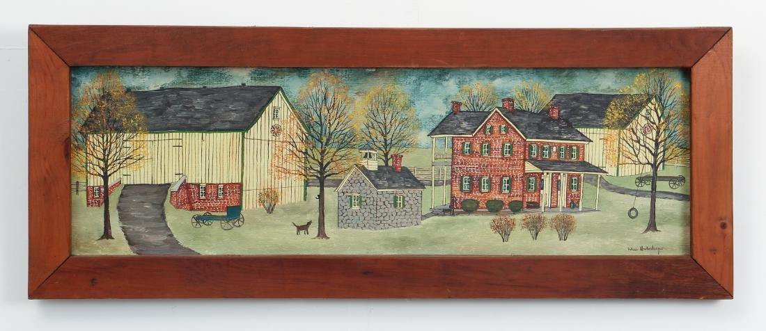 Dolores Hackenberger (Amish Grandma Moses) painting - 2