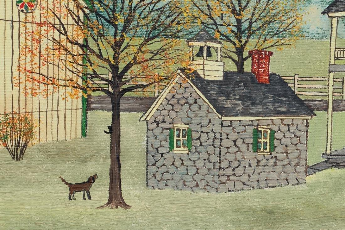 Dolores Hackenberger (Amish Grandma Moses) painting - 4