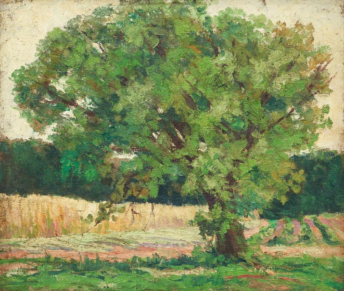 Harry Hickman Oil on Canvas Landscape