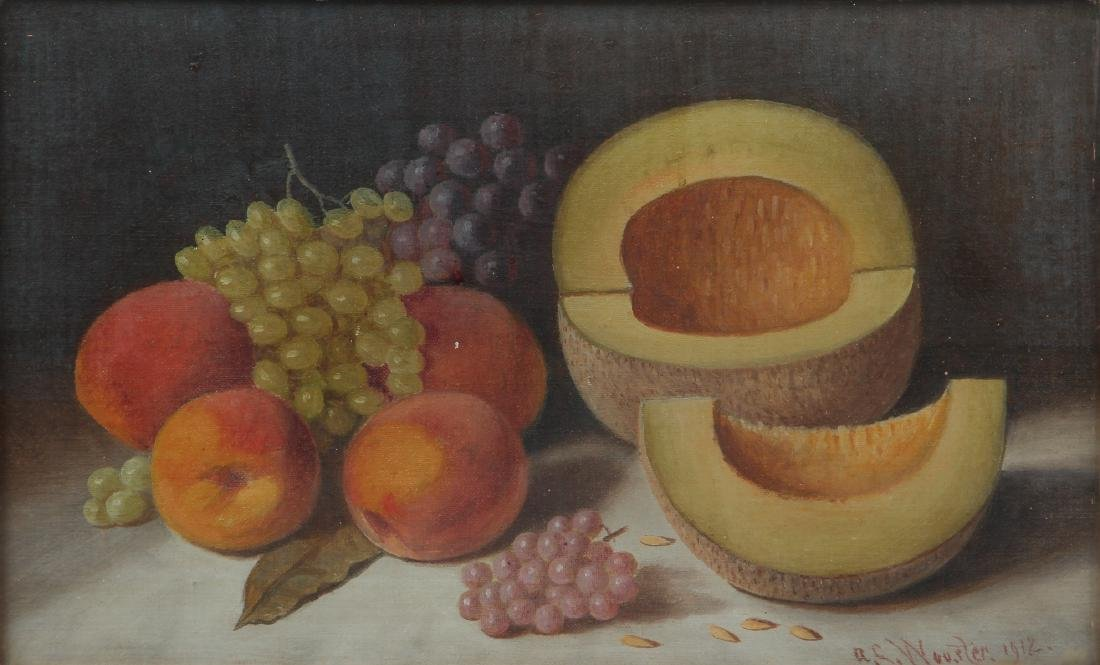 Austin C Wooster Still Life with Fruit