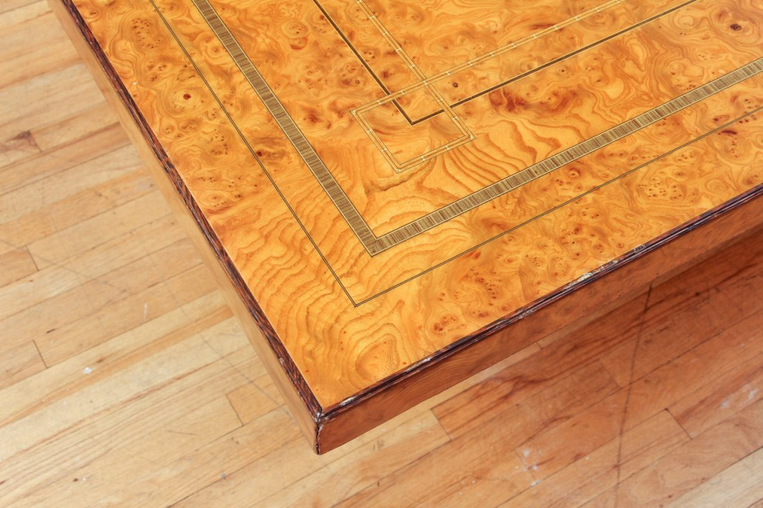 Extensively Cross banded Inlaid Banquet Table - 3