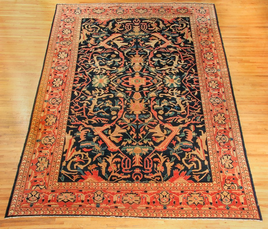 Palace Size Heriz Style Oriental Rug