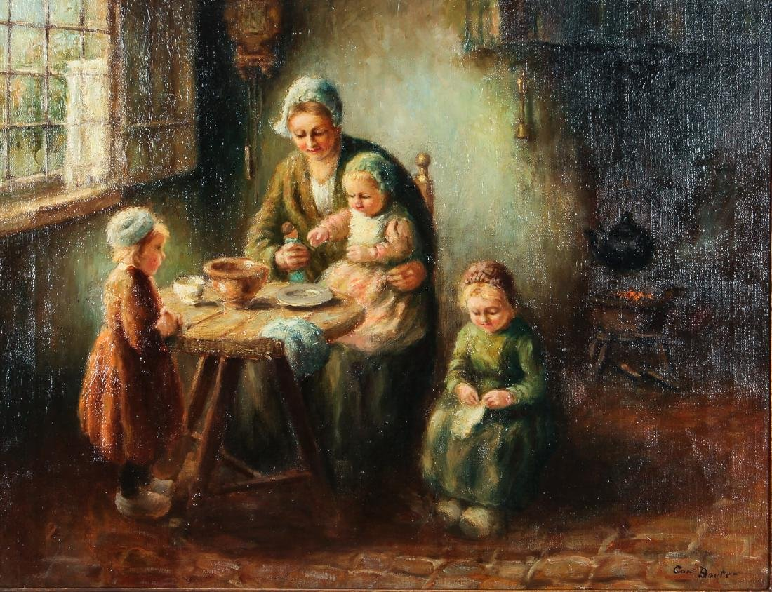 Cornelius Bouter Dutch Domestic Scene Painting