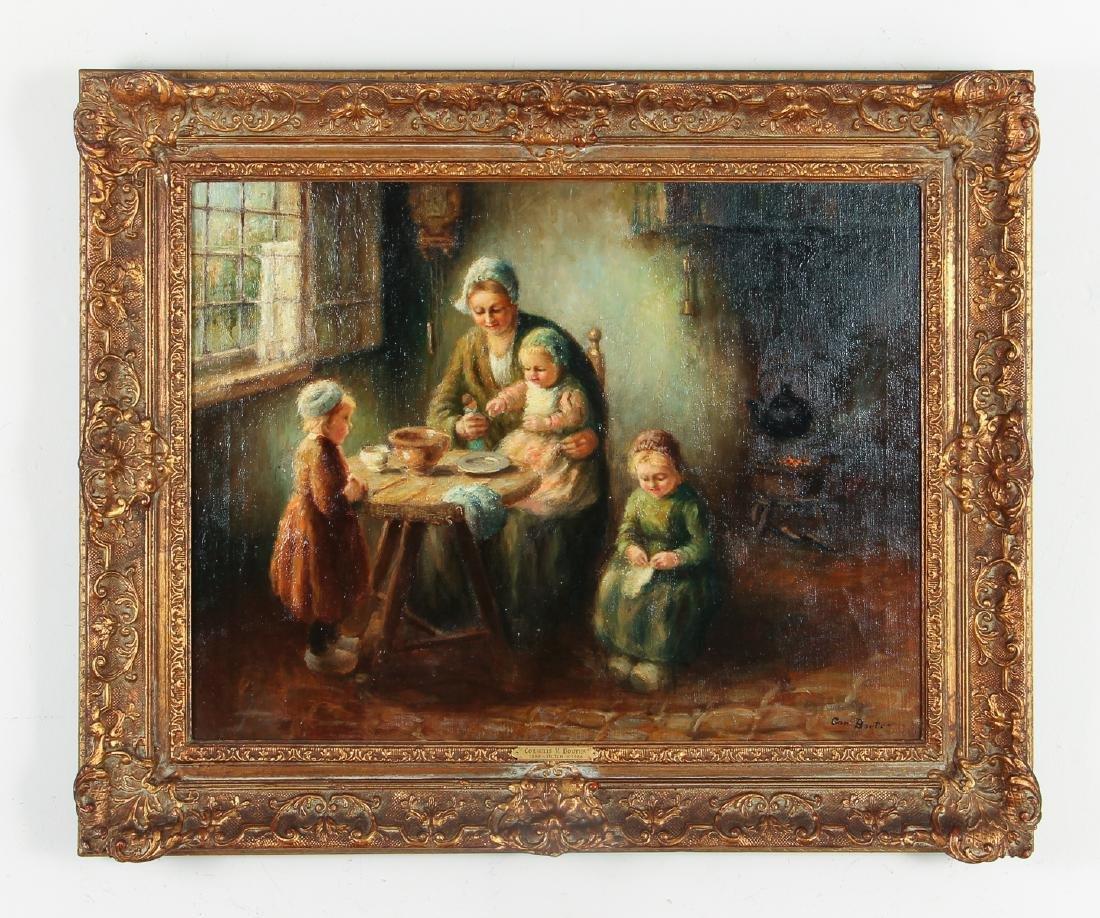 Cornelius Bouter Dutch Domestic Scene Painting - 2