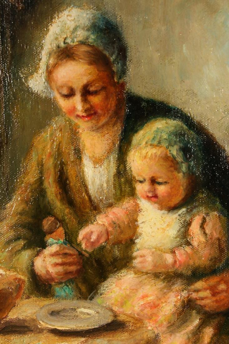 Cornelius Bouter Dutch Domestic Scene Painting - 5