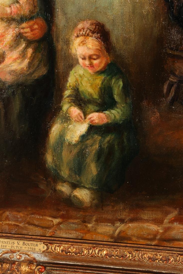 Cornelius Bouter Dutch Domestic Scene Painting - 6