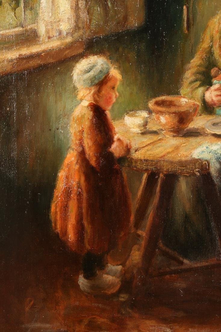 Cornelius Bouter Dutch Domestic Scene Painting - 7