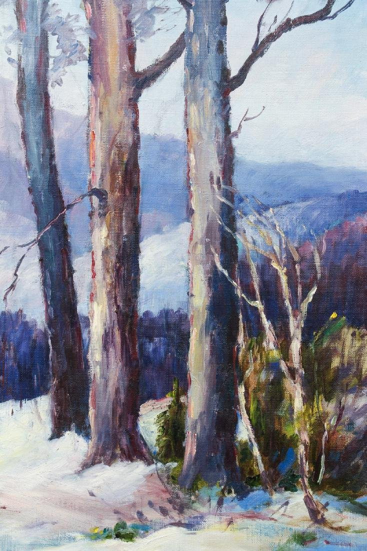 Olive Ruth Chaffee oil Winter Landscape - 4