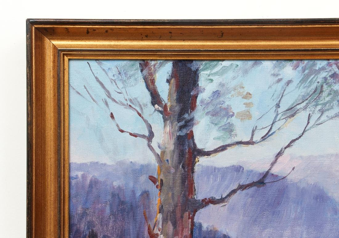 Olive Ruth Chaffee oil Winter Landscape - 5