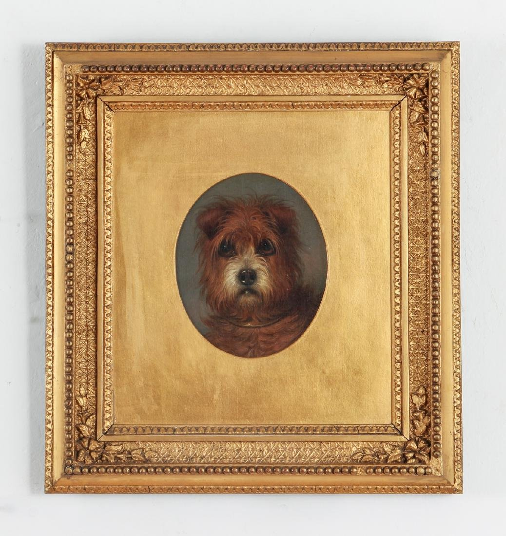 19th Century Painting of a Terrier Dog - 2