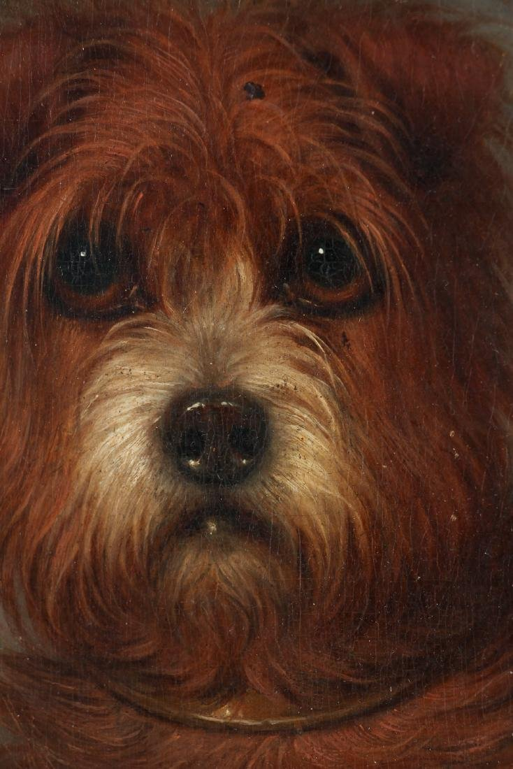 19th Century Painting of a Terrier Dog - 3