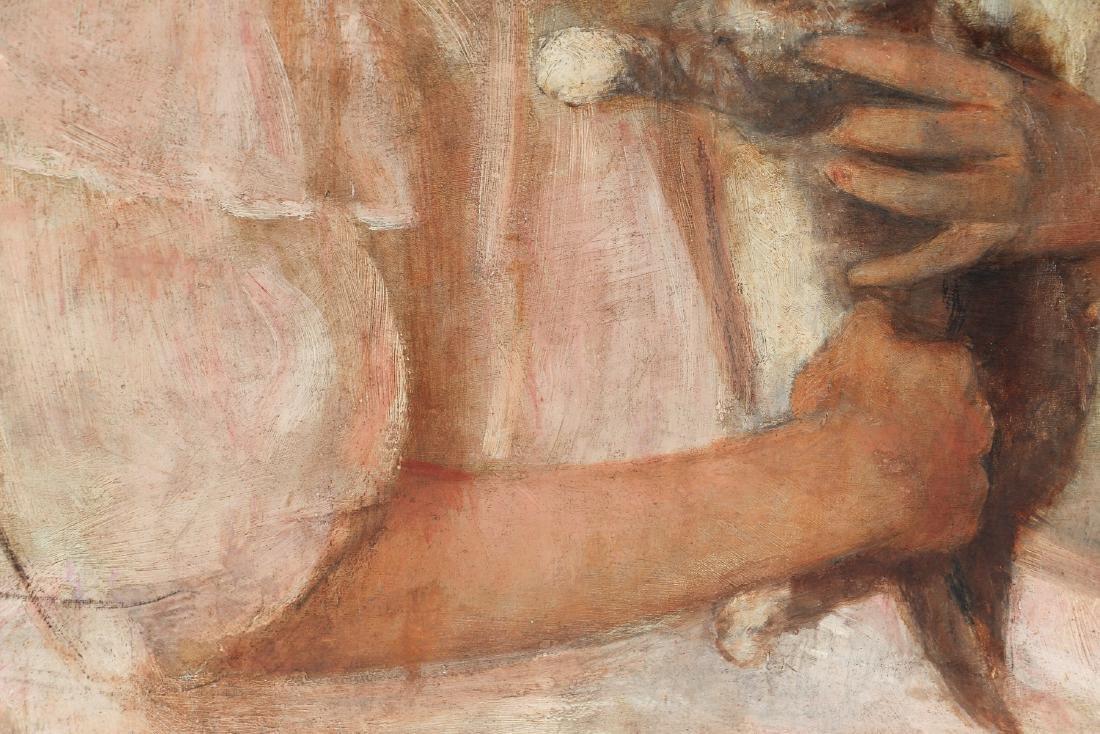 Edith Prellwitz ptg. Girl with Kittens - 4