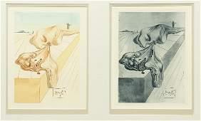 Salvador Dali 2 examples of The Men Who Devour Each