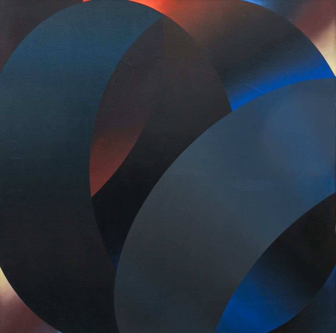 Samia Halaby 1969 Untitled Abstraction