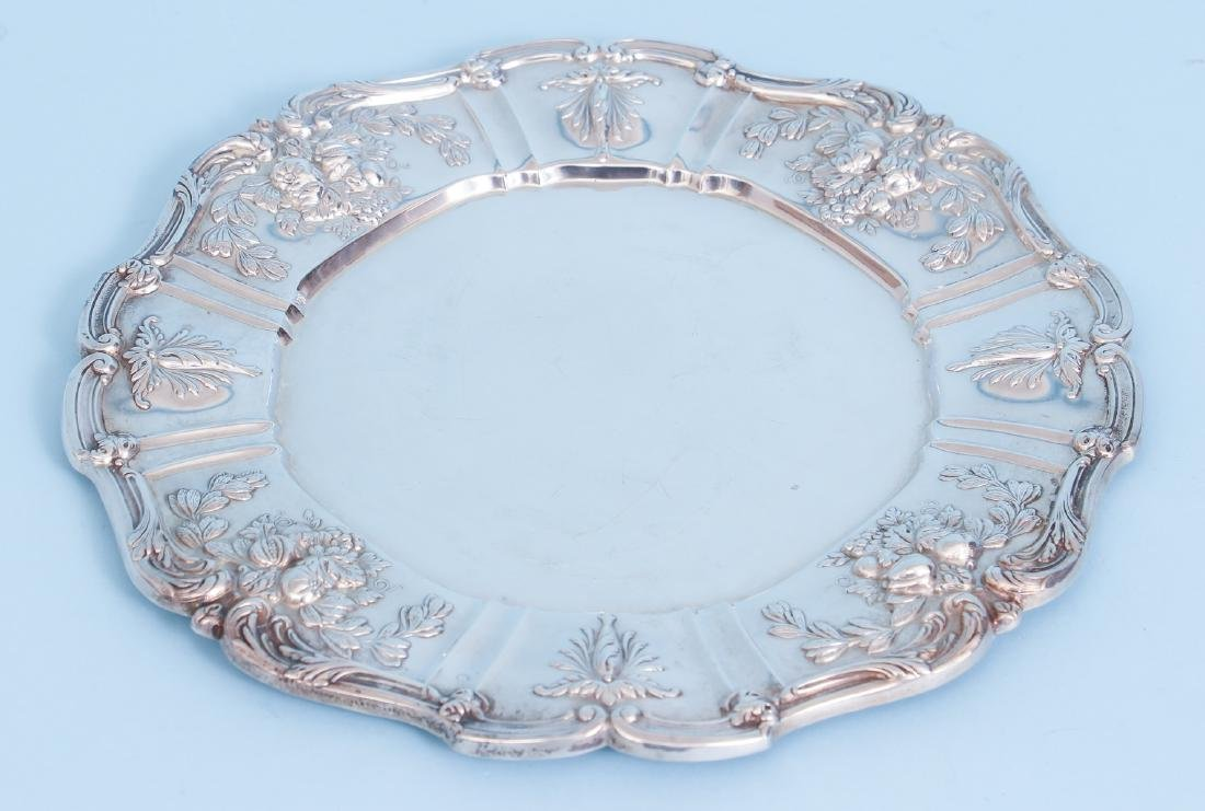 Reed and Barton Francis I Sterling Silver Round Tray