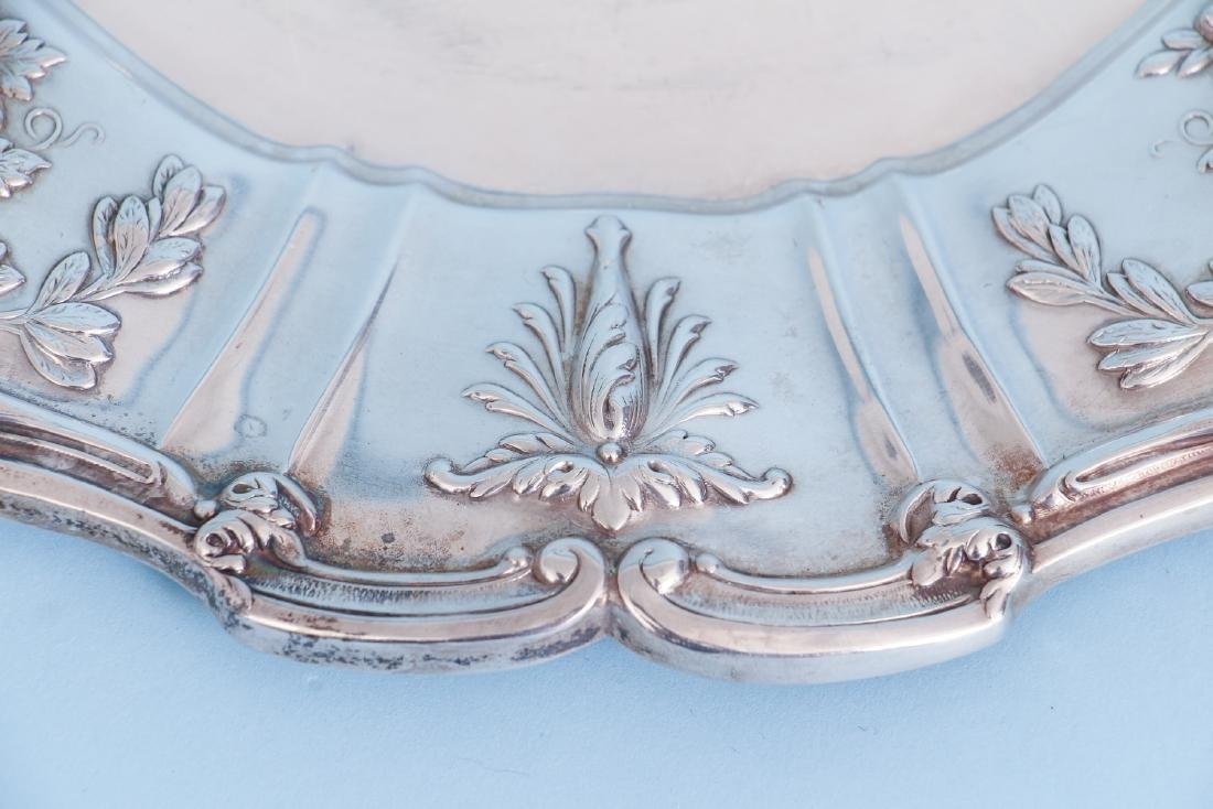 Reed and Barton Francis I Sterling Silver Round Tray - 4