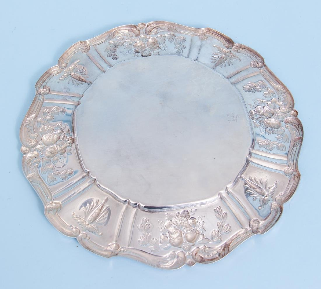 Reed and Barton Francis I Sterling Silver Round Tray - 6