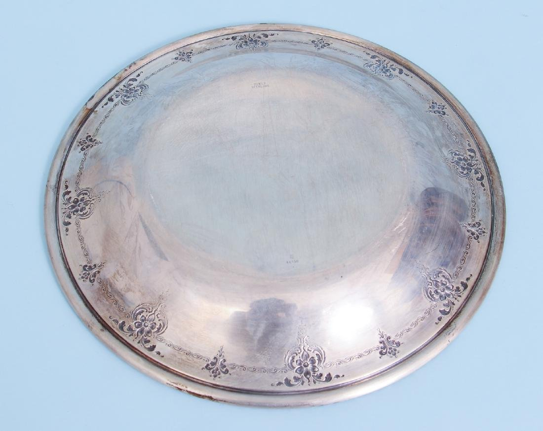 Towle Old Master Sterling Silver Serving Tray - 5