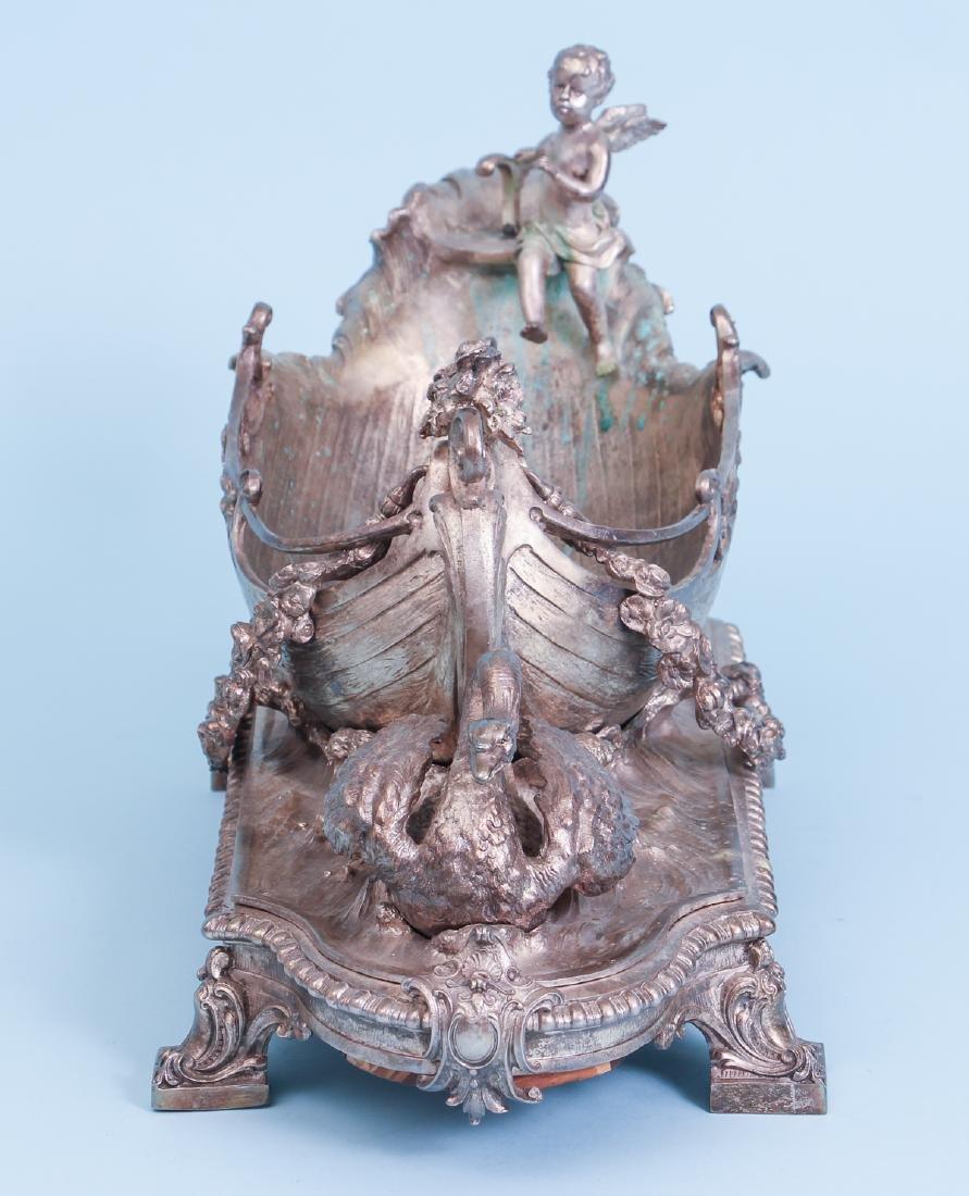 Silver Gilt Bronze Centerpiece - 5