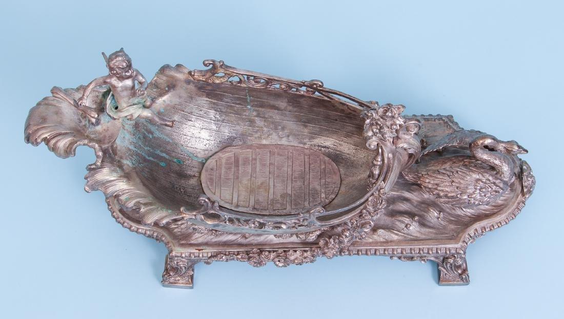 Silver Gilt Bronze Centerpiece - 6