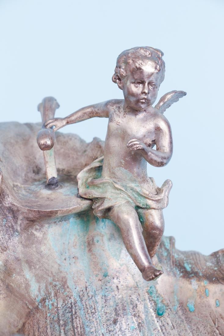 Silver Gilt Bronze Centerpiece - 8