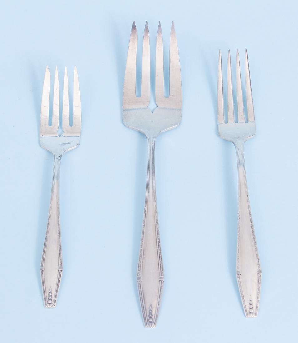 State House Formality Pattern  Sterling Silver Flatware - 5