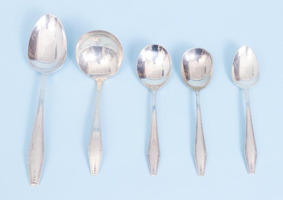 State House Formality Pattern  Sterling Silver Flatware - 6