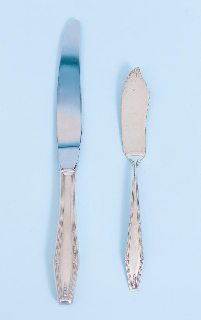 State House Formality Pattern  Sterling Silver Flatware - 8
