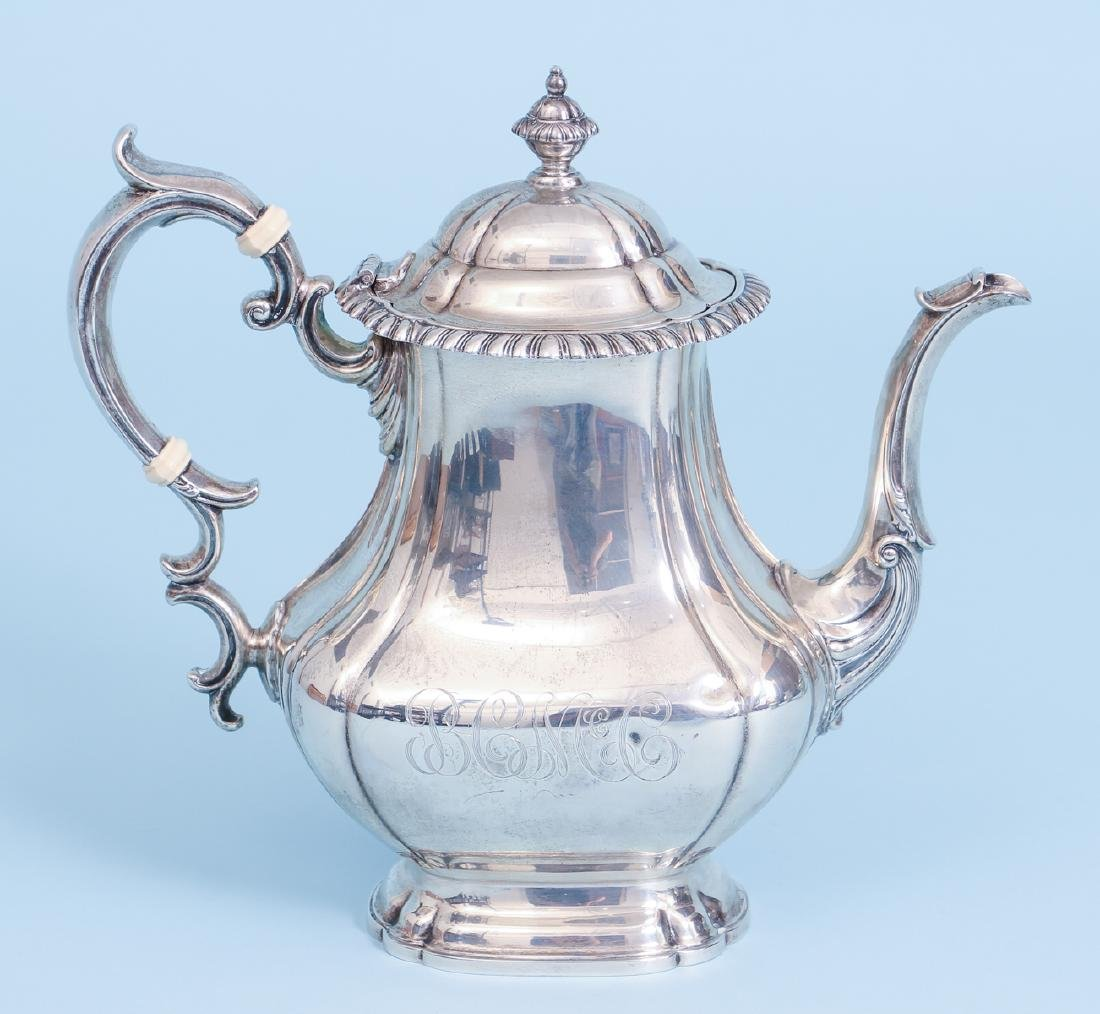 Gorham English Gadroon Sterling Silver Tea and Coffee - 2