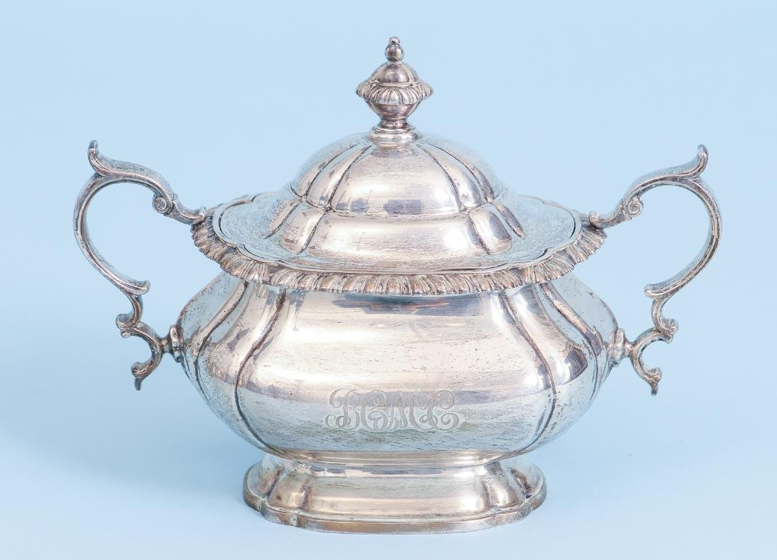 Gorham English Gadroon Sterling Silver Tea and Coffee - 9