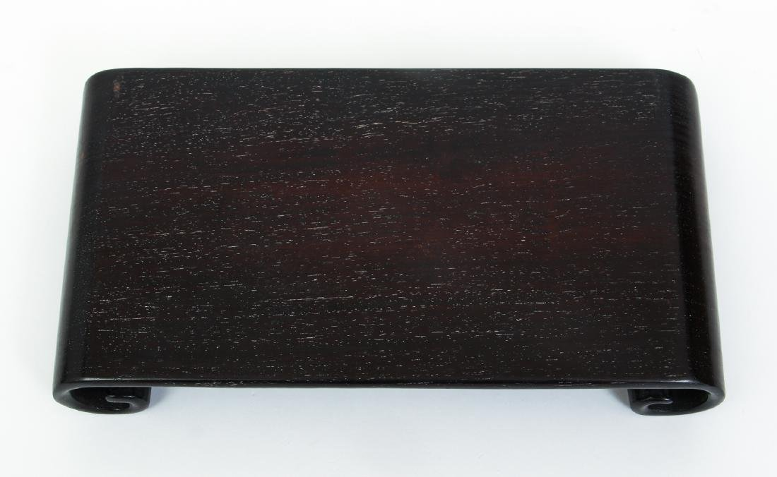 Three Zitan or Related Wood Stands - 6